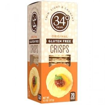 34 degrees Gluten Free Cracker 4.5 Oz