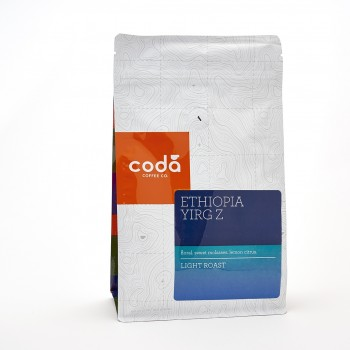 5280Market Proudly presents Coda Coffe Ethiopia Yirg Z (Yirgacheffe)12 Oz