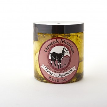 Haystack Mountain Marinated Chevre 8 Oz