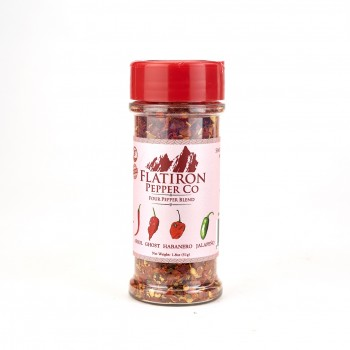 "Flatiron Pepper Co "" Four pepper blend "" 1.8 OZ"