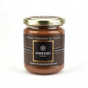Amedei Crema Toscana al Cacao, Dark Chocolate Hazelnut Spread