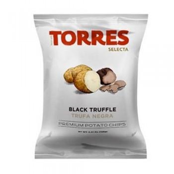 Torres Black Truffle potato chips 40 Gr
