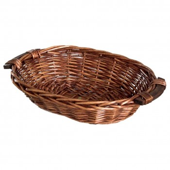 Willow Tray with wooden Handle