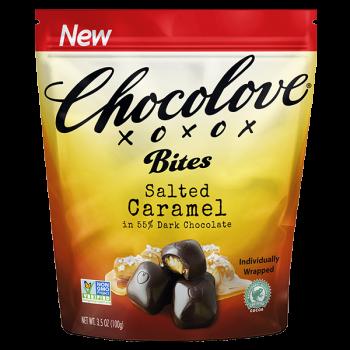 Chocolove Salted Caramel Bites 3.5 Oz