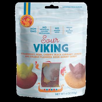 Candy People Non Gmo non Gelatine Sour-Viking