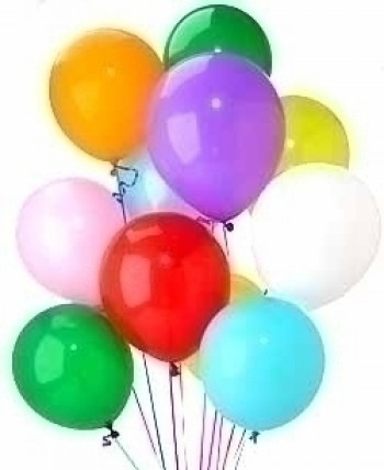 Latex Balloon add on sales only , do not use for Hospital deliveries