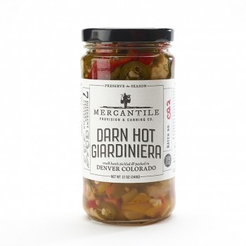 Mercantile Darn Hot Giardiniera 12 Oz