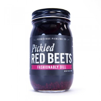 Pernicious Pickling Co Pickled Red Beets fashionably Dill