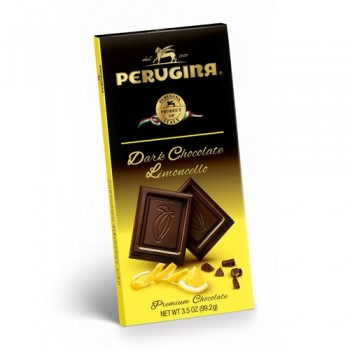 5280 Market and 5280Gourmet present this Perugina Dark Chocolate Limoncello 3.5 Oz Fine Italian 51% cacao dark chocolate with limoncello flavor. No artificial flavors, colors or preservatives. Gluten Free.