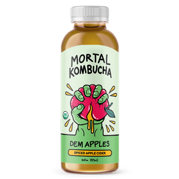 Mortal Kombucha Dem Apples 16 Oz