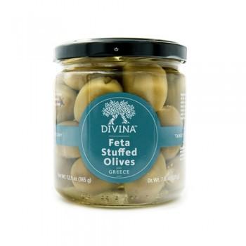 Divina Feta stuffed Olives  6.7 Oz