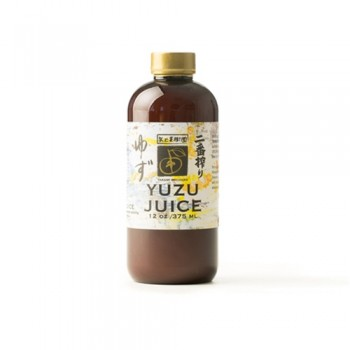 Yuzu Juice Niban Shibori 14 oz 375 Ml