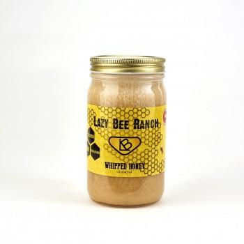 Lazy Bee Colorado whipped Honey 11.5 OZ