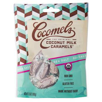 Cocomel Original Coconut Salted Caramels 3.5 Oz