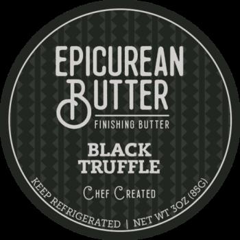 Epicurean Black Truffle Finishing Butter 3OZ