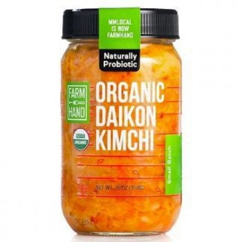 5280Market Organic Spicy Daikon Kimchi 16 Oz