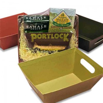 5280 Market and 5280Gourmet offer  Decorative Heavy Recycled Cardboard  Tray. Price includes  packaging of your gift.