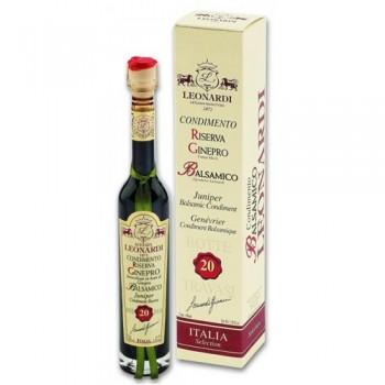 Acetaia Leonardi 20 Year Juniper wood Balsamic Condiment 100 ML