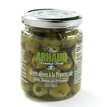 Arnaud green olives with herb de Provence 9.2 Oz