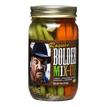 Bolder Beans Pickled Mix-Up Vegetable Medley – 16 oz