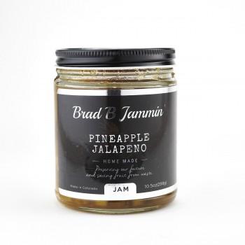 Brad B Jammin Pineapple  Jalapeno Jam 10.5 OZ LOCAL