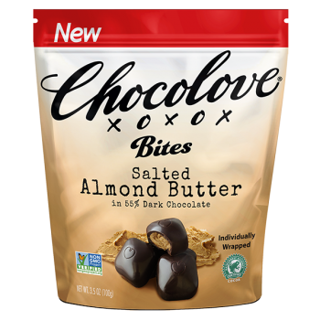 Chocolove salted almond butter 3.5 Oz