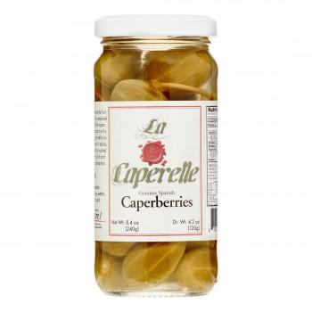La Caperelle Caperberries  4.2 Oz