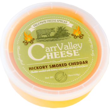 Carr Valley Cheese Hickory Smoked Spread 8 Oz Made in USA