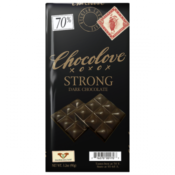 Chocolove 70% Strong Dark Chocolate, 3.2 oz