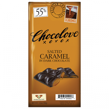 5280Market Salted Caramel in Dark Chocolate 2.3 Oz
