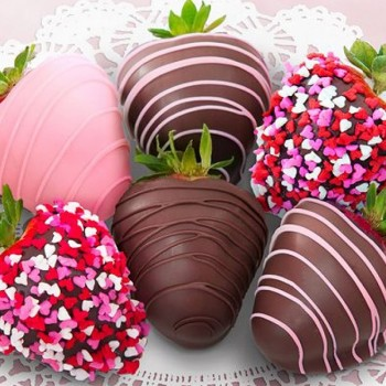 Valentines Day Chocolate Covered Strawberries 5280Flowers - 5280Gourmet