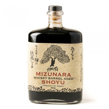 Haku Mizunara Whiskey Barrel Aged Shoyu - 750ml