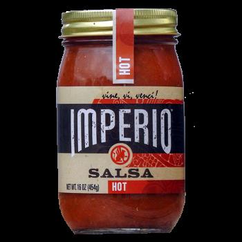 Imperio hot Salsa 16 Oz