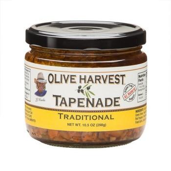 Olive Harvest traditional Tapenade 10.5 Oz