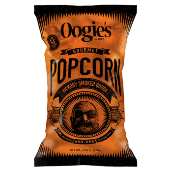 Oogies Hickory Smoked Gouda Popcorn