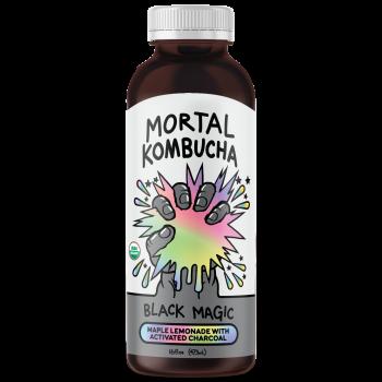 Mortal kombucha Black Magic 16 Oz