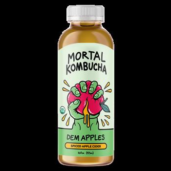 Mortal Kombucha Dem Apples 16 Oz
