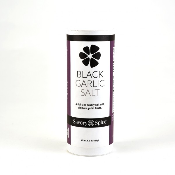 Black Garlic salt  4.75 OZ